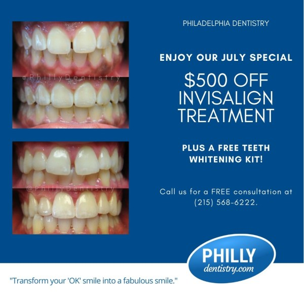 July Invisalign Special