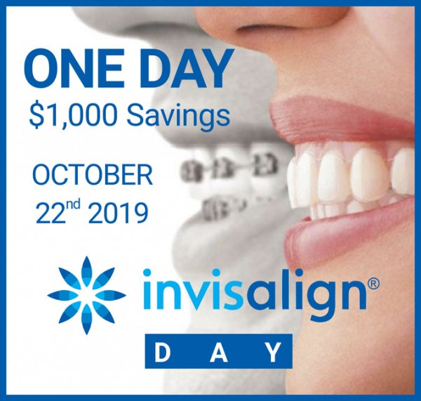 Invisalign Day One day $1000 savings