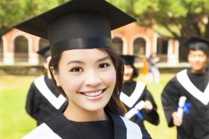 College graduate smile makeover